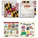 Scrapbook Customs - State Sightseeing Kit - Maryland