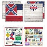 Scrapbook Customs - State Sightseeing Kit - Mississippi