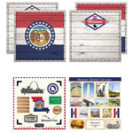Scrapbook Customs - State Sightseeing Kit - Missouri