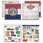 Scrapbook Customs - State Sightseeing Kit - Missouri