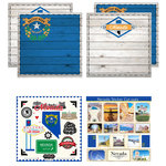 Scrapbook Customs - State Sightseeing Kit - Nevada
