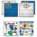 Scrapbook Customs - State Sightseeing Kit - Nevada