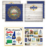 Scrapbook Customs - State Sightseeing Kit - New Hampshire