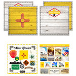 Scrapbook Customs - State Sightseeing Kit - New Mexico