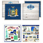 Scrapbook Customs - State Sightseeing Kit - New York