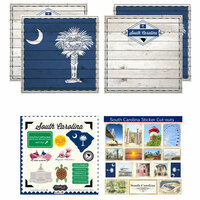 Scrapbook Customs - State Sightseeing Kit - South Carolina