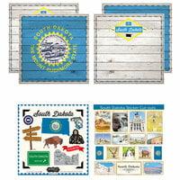 Scrapbook Customs - State Sightseeing Kit - South Dakota