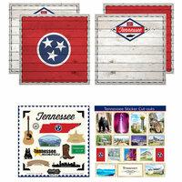 Scrapbook Customs - State Sightseeing Kit - Tennessee