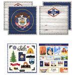 Scrapbook Customs - State Sightseeing Kit - Utah
