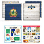 Scrapbook Customs - State Sightseeing Kit - Vermont