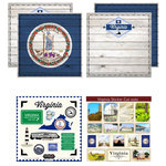 Scrapbook Customs - State Sightseeing Kit - Virginia