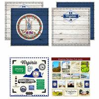 Scrapbook Customs - State Sightseeing Kit - Virginia