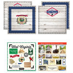 Scrapbook Customs - State Sightseeing Kit - West Virginia