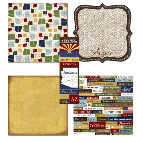 Scrapbook Customs - Chic Scrapbook Kit - Arizona