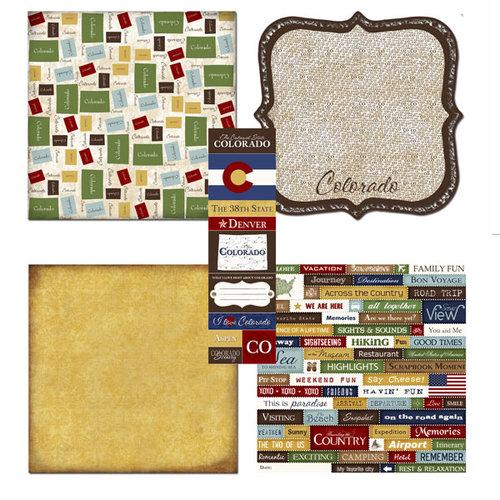 Scrapbook Customs - Chic Scrapbook Kit - Colorado