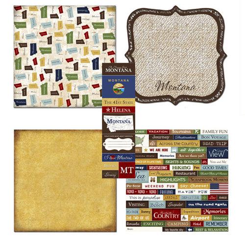 Scrapbook Customs - Chic Scrapbook Kit - Montana