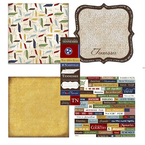 Scrapbook Customs - Chic Scrapbook Kit - Tennessee