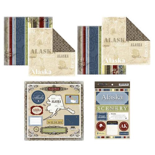 Scrapbook Customs - Lovely Scrapbook Kit - Alaska