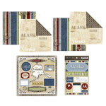 Scrapbook Customs - Lovely Scrapbook Kit - Alaska