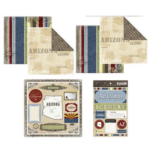 Scrapbook Customs - Lovely Scrapbook Kit - Arizona