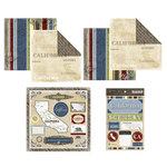 Scrapbook Customs - Lovely Scrapbook Kit - California