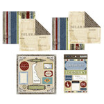 Scrapbook Customs - Lovely Scrapbook Kit - Delaware