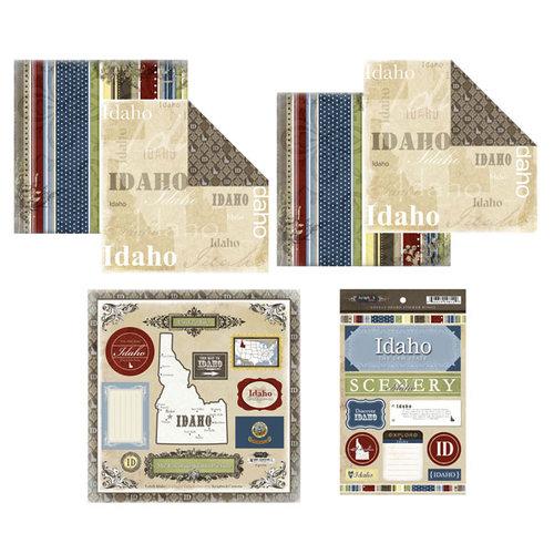 Scrapbook Customs - Lovely Scrapbook Kit - Idaho