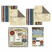 Scrapbook Customs - Lovely Scrapbook Kit - Idaho
