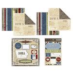 Scrapbook Customs - Lovely Scrapbook Kit - Iowa