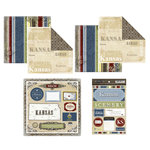 Scrapbook Customs - Lovely Scrapbook Kit - Kansas