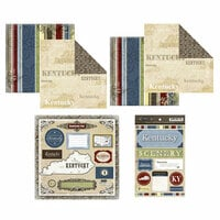 Scrapbook Customs - Lovely Scrapbook Kit - Kentucky