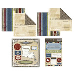 Scrapbook Customs - Lovely Scrapbook Kit - Louisiana