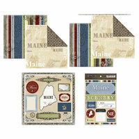 Scrapbook Customs - Lovely Scrapbook Kit - Maine