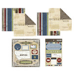 Scrapbook Customs - Lovely Scrapbook Kit - Montana