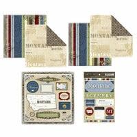 Scrapbook Customs - Lovely Scrapbook Kit - Montana