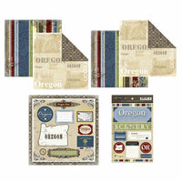 Scrapbook Customs - Lovely Scrapbook Kit - Oregon