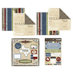 Scrapbook Customs - Lovely Scrapbook Kit - Texas