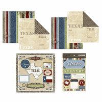 Scrapbook Customs - Lovely Scrapbook Kit - Texas