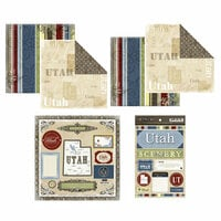 Scrapbook Customs - Lovely Scrapbook Kit - Utah