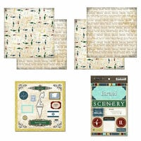 Scrapbook Customs - Explore Country Scrapbook Kit - Israel