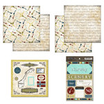 Scrapbook Customs - Explore Country Scrapbook Kit - Norway