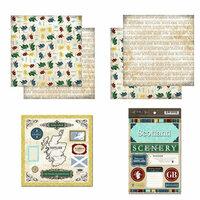 Scrapbook Customs - Explore Country Scrapbook Kit - Scotland