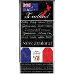 Scrapbook Customs - World Collection - New Zealand - Cardstock Stickers - Scratchy