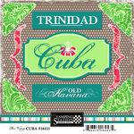 Scrapbook Customs - World Collection - Cuba - Cardstock Stickers - Bon Voyage