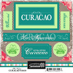 Scrapbook Customs - World Collection - Curacao - Cardstock Stickers - Bon Voyage
