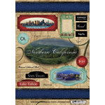 Scrapbook Customs - United States Collection - California - Cardstock Stickers - Travel - Northern California
