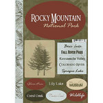 Scrapbook Customs - United States Collection - Colorado - National Park - Cardstock Stickers - Rocky Mountain