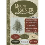 Scrapbook Customs - United States Collection - Washington - National Park - Cardstock Stickers - Mount Rainier