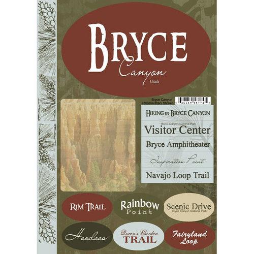 Scrapbook Customs USA Utah National Park Cardstock Stickers Bryce Canyon