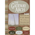 Scrapbook Customs - United States Collection - Missouri - National Park - Cardstock Stickers - Gateway Arch